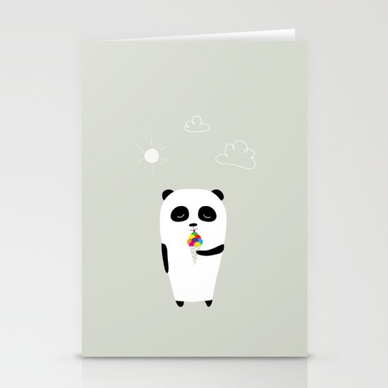 The Happy Ice Cream Stationery Cards