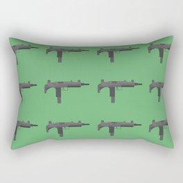 Uzi submachine gun Rectangular Pillow