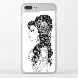 Jazz Queen Amy Clear iPhone Case