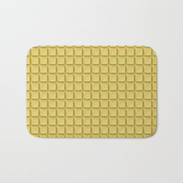 Just white chocolate / 3D render of white chocolate Bath Mat