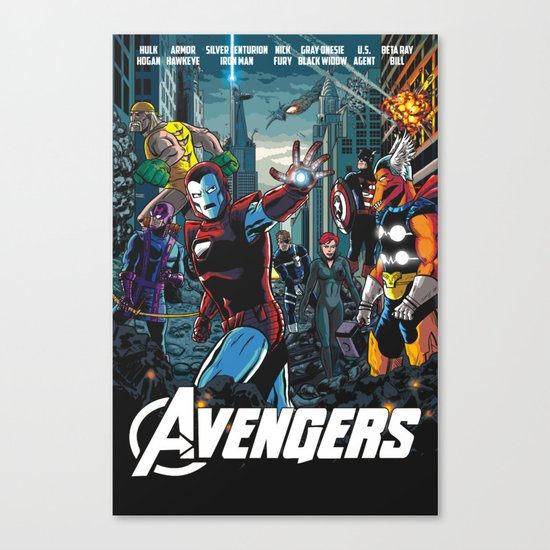 The 80s Canvas Print
