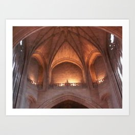 Liverpool Anglican Cathedral Inner Art Print