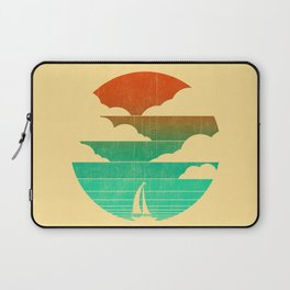 Go West (sail away in my boat) Laptop Sleeve