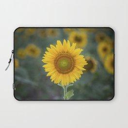 Tournesol jaune Laptop Sleeve