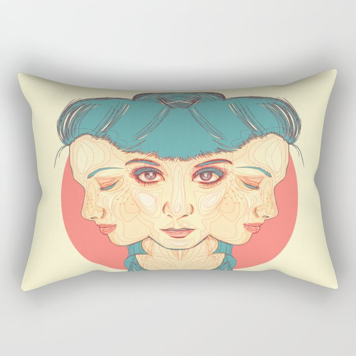 Regret Rectangular Pillow