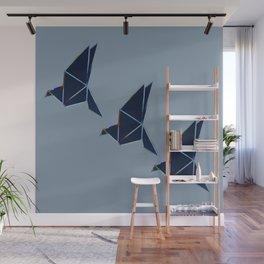 Like Bird ..Let's fly away Wall Mural