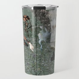 Dionysus and Apollo Travel Mug