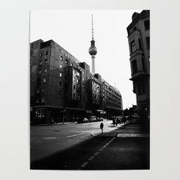 Berliner Straßen Poster