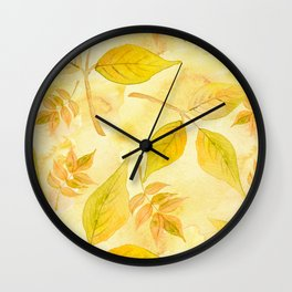Autumn leaves #13 Wall Clock