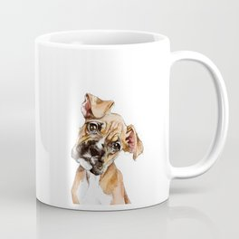 Stay Curious Boxer Puppy Coffee Mug