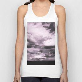 Cloudy Sky #decor #society6 Unisex Tank Top