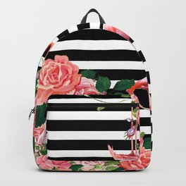 tropical flamingo Backpack
