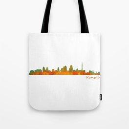 Kansas City Skyline Hq v1 Tote Bag