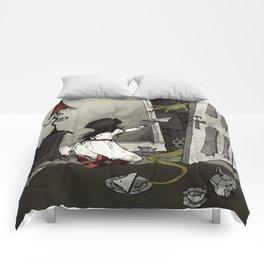 Monster in the Closet Comforters