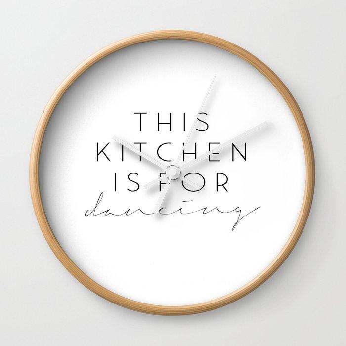 Printable Wall Art,Printable Quotes,Kitchen Wall Art, Kitchen Art,Kitchen  Prints,Kitchen Wall Decor Wall Clock