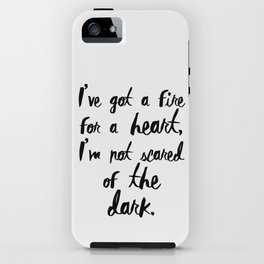 One Direction // Drag me down lyrics iPhone Case