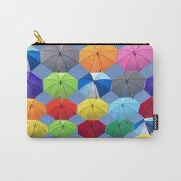 Myriads of Umbrellas Carry-All Pouch