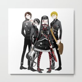 fukumenkei noise in No Hurry to shout band Metal Print