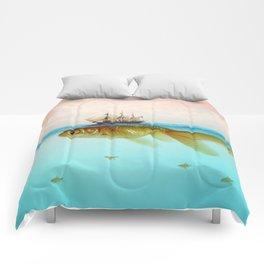 Goldfish Tall Ship Comforters