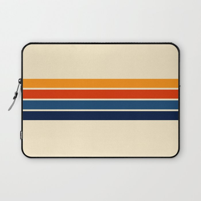 Classic Retro Stripes Laptop Sleeve