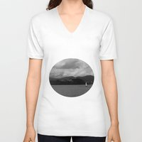 voyage V-neck T-shirts featuring Voyage by Laura Maria Designs
