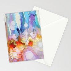 Dame plume Stationery Cards