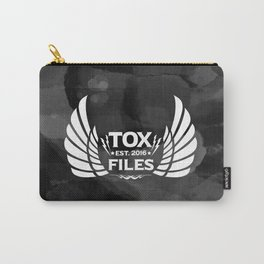 Tox Files - White on Gray Carry-All Pouch