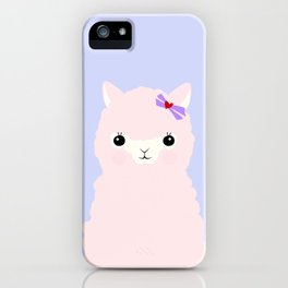 Alpaca in Love V 2 iPhone Case