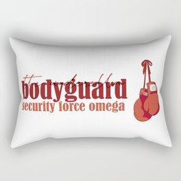 Thatcher Morreti - Bodyguard Rectangular Pillow