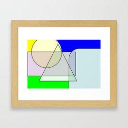 Colorandform mixery 4 Framed Art Print