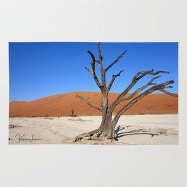 Skeleton tree in Namibia Rug