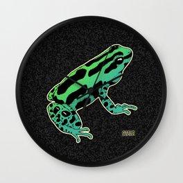 Ranitomeya Dart Frog Wall Clock