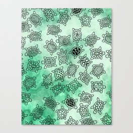 Turtle Patterns Canvas Print