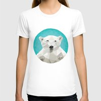 bears T-shirts featuring ♥ SAVE THE POLAR BEARS ♥ by ℳixed ℱeelings