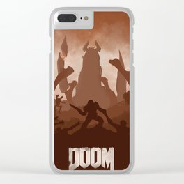 DOOM Clear iPhone Case