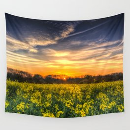 April Afternoon Field Wall Tapestry