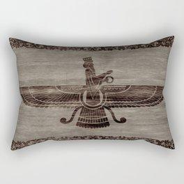 Farohar - faravahar -Fravashi Rectangular Pillow