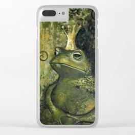The FROG KING Clear iPhone Case