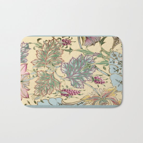 tiffany garden Bath Mat