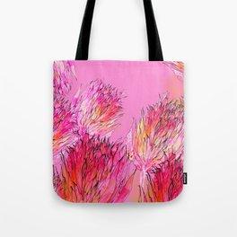 Petal Morpho Floral Tote Bag