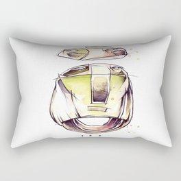 Coffee Face 03 Rectangular Pillow