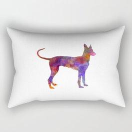 Cirneco dell Etna in watercolor Rectangular Pillow
