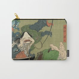 The Greedy Old Woman with a Box of Demons Carry-All Pouch