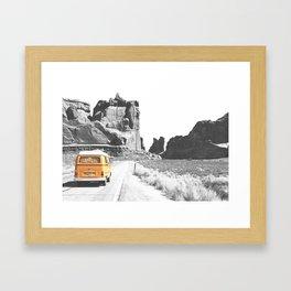 Road Trip Combi Framed Art Print