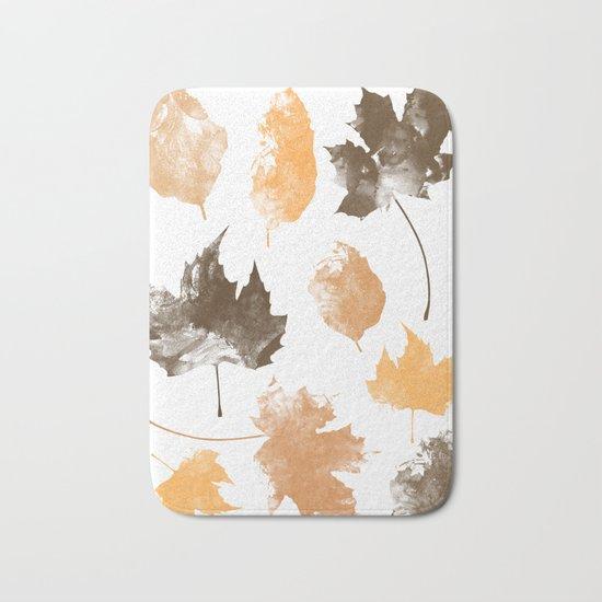 autumn, leaves, Bath Mat