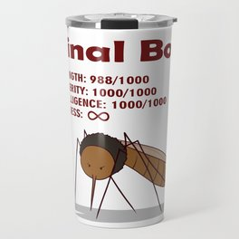 Final Boss - Red Letters Travel Mug