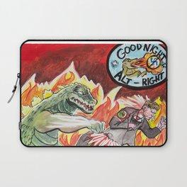 Godzilla vs The Nazis Laptop Sleeve