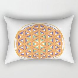 Flower of Life Mandala Rectangular Pillow