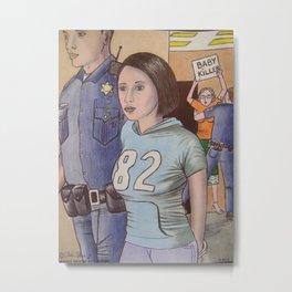 casey anthony in custody Metal Print