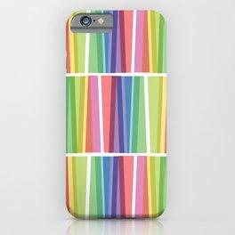 Fig. 047 Rainbow Geometric Keyboards iPhone Case